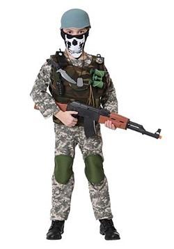 Kids Camo Trooper Costume Update Main