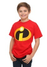 Boys Incredibles Costume TShirt Front