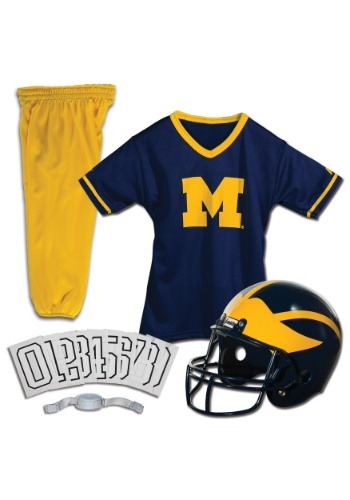 Michigan Wolverines Child Uniform By: Franklin Sports for the 2015 Costume season.