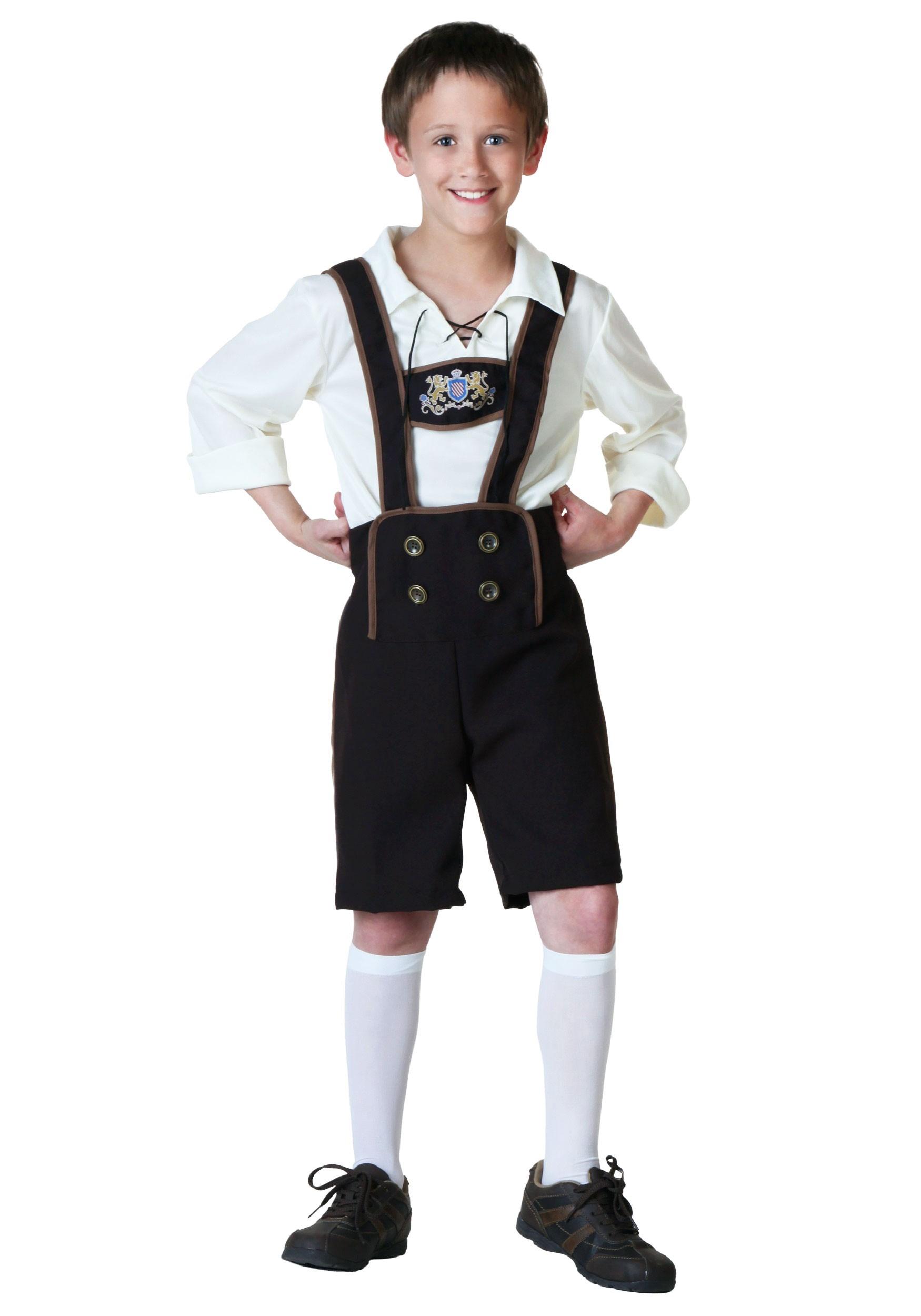 Child Lederhosen Costume  sc 1 st  Halloween Costumes & Child Lederhosen