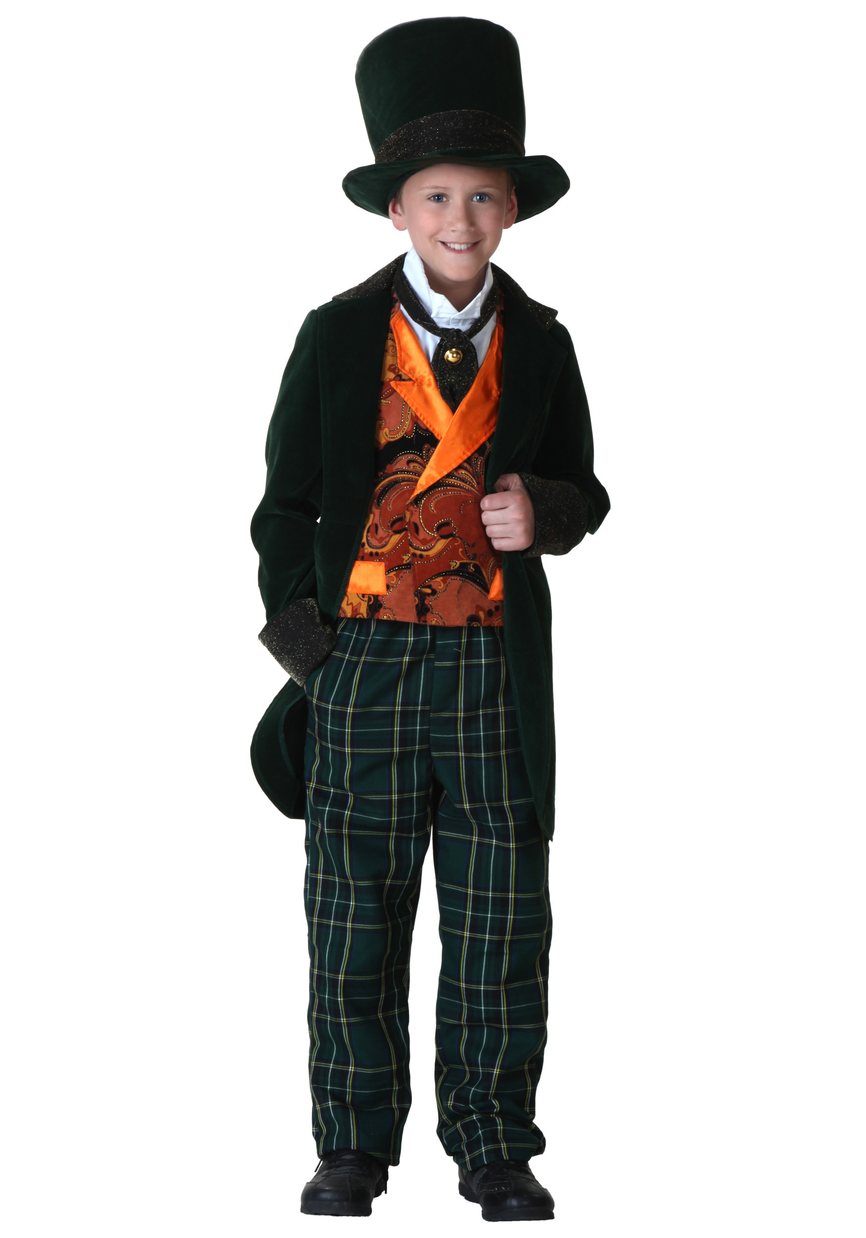 child deluxe mad hatter costume - Mad Hatter Halloween Costume For Kids