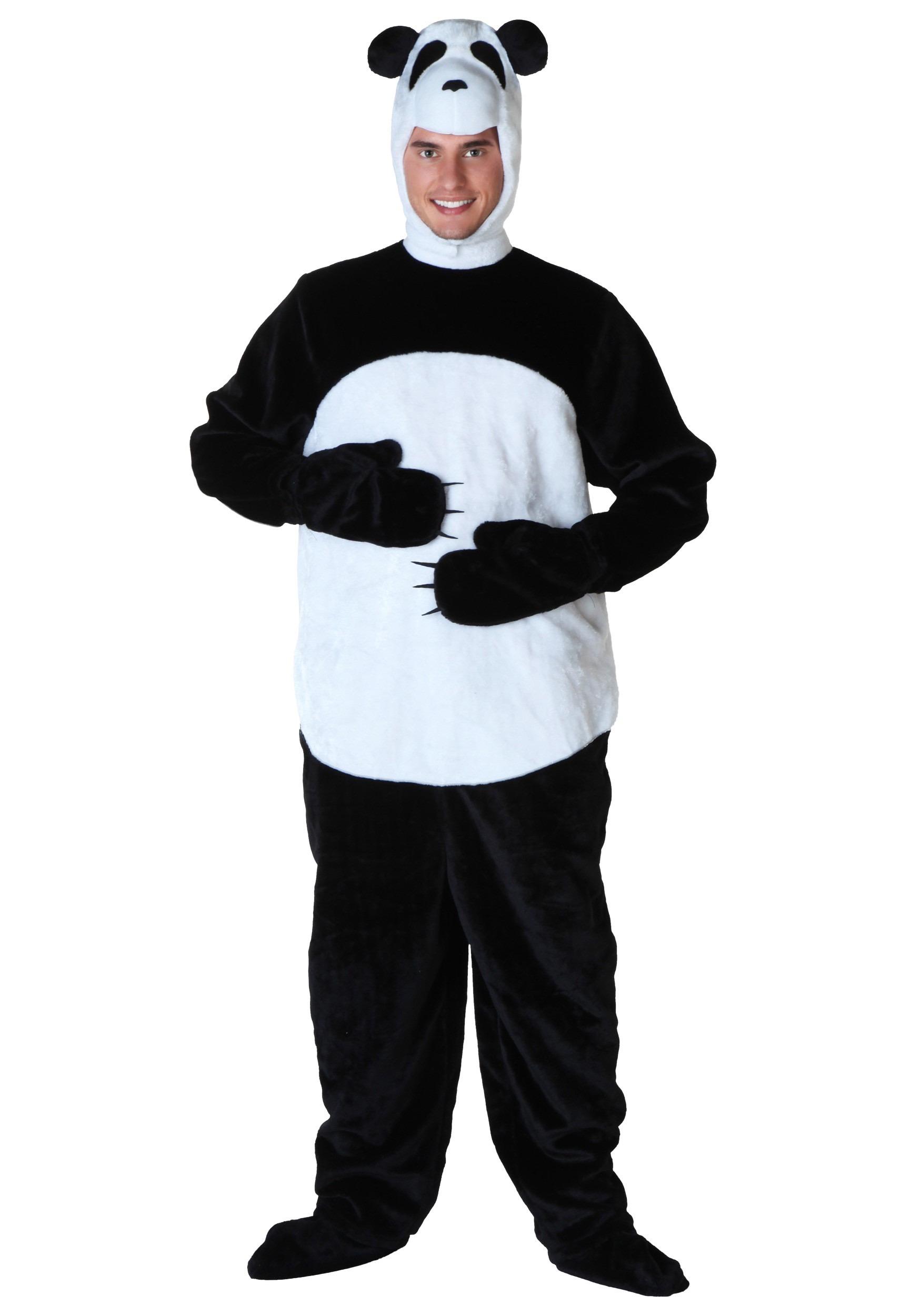 Mens Panda Costume  sc 1 st  Halloween Costumes & Menu0027s Panda Costume