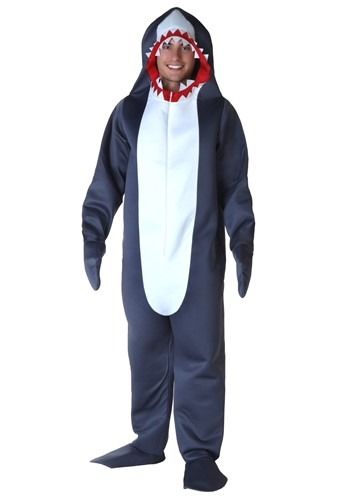 Click Here to buy Mens Shark Costume from HalloweenCostumes, CDN Funds