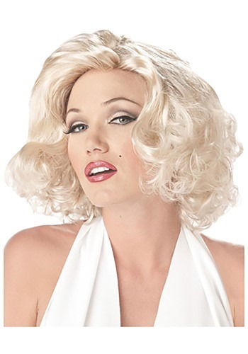 Click Here to buy Marilyn Wig from HalloweenCostumes, CDN Funds