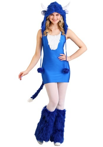 Click Here to buy Sexy Babe the Blue Ox Costume from HalloweenCostumes, USA Funds & Shipping