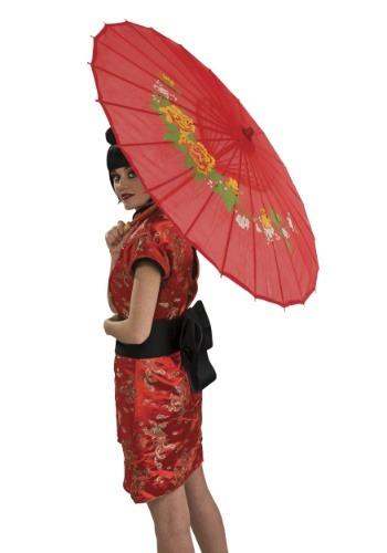 Womens Oriental Parasol Accessory
