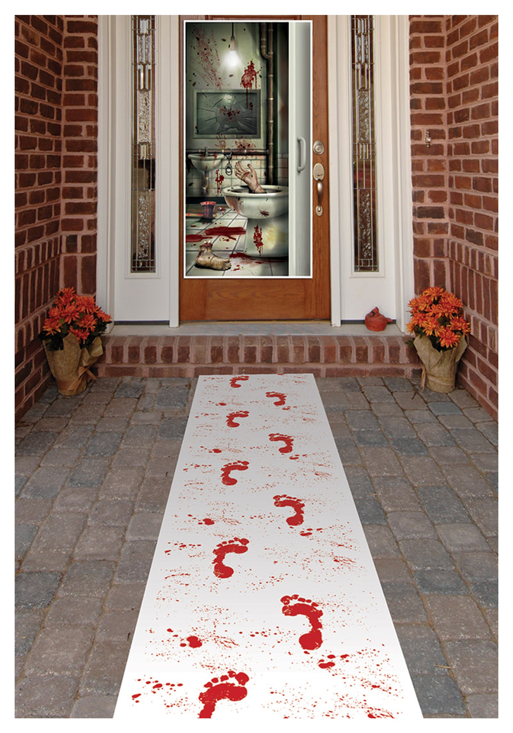 Bloody footprints runner - Comment faire des decoration d halloween ...