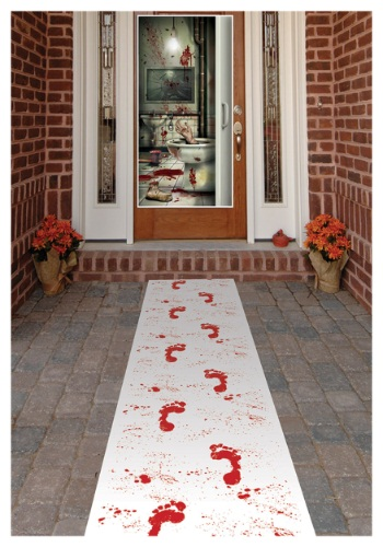 Bloody Footprints Runner By: Beistle for the 2015 Costume season.