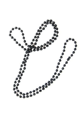 Black Flapper Beads By: Kern for the 2015 Costume season.