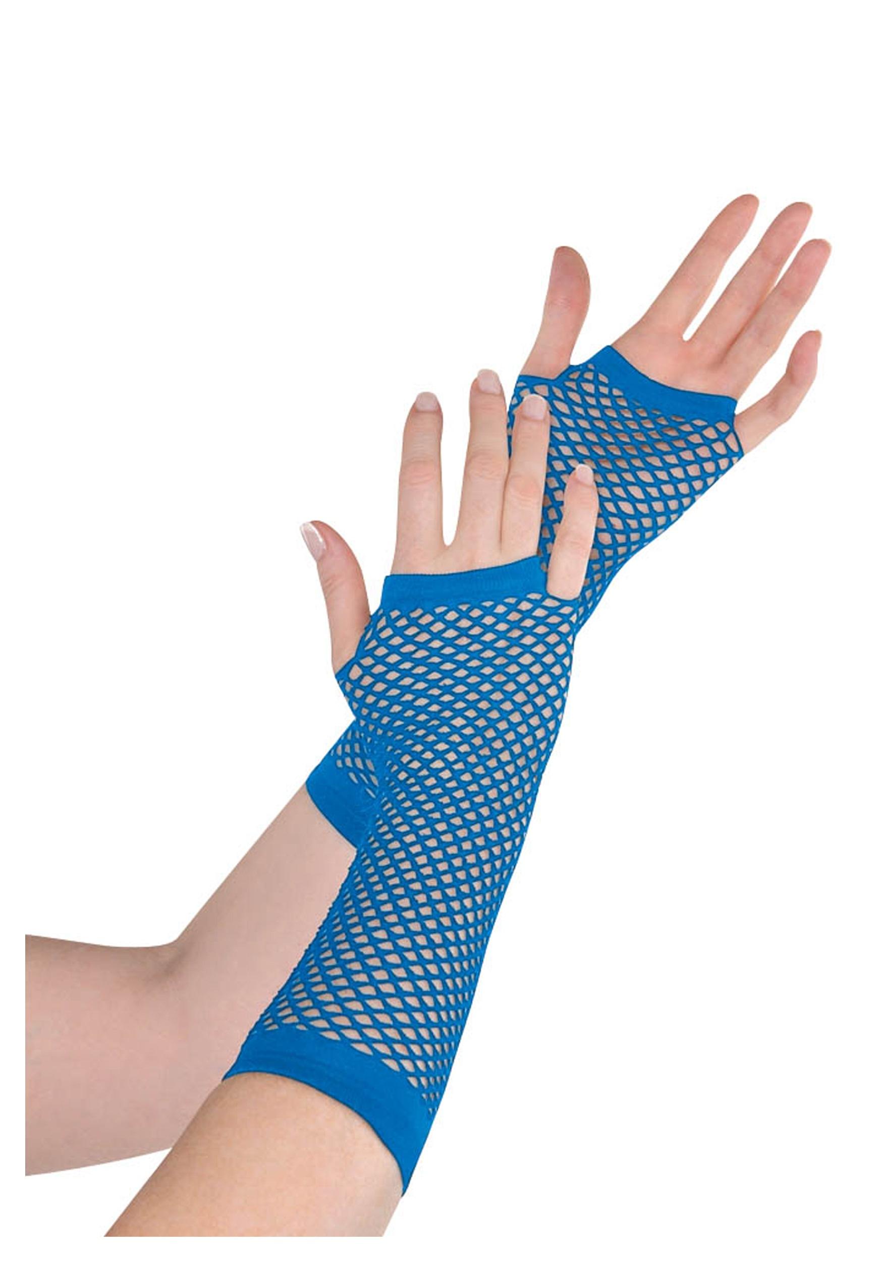 Blue_Fishnet_Long_Gloves