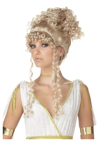 Athenian Goddess Wig By: California Costume Collection for the 2015 Costume season.