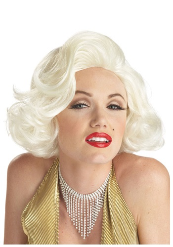 Click Here to buy Classic Marilyn Costume Wig from HalloweenCostumes, CDN Funds