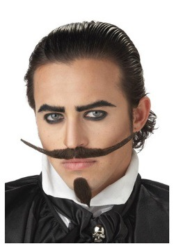 Musketeer Mustache and Chin Patch