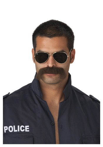 Cop Mustache By: California Costume Collection for the 2015 Costume season.