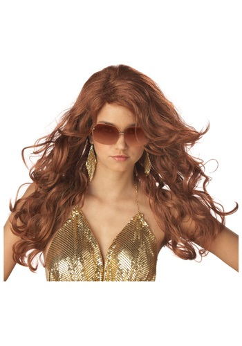 Auburn Supermodel Wig