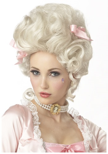 Click Here to buy Marie Antoinette Wig from HalloweenCostumes, CDN Funds
