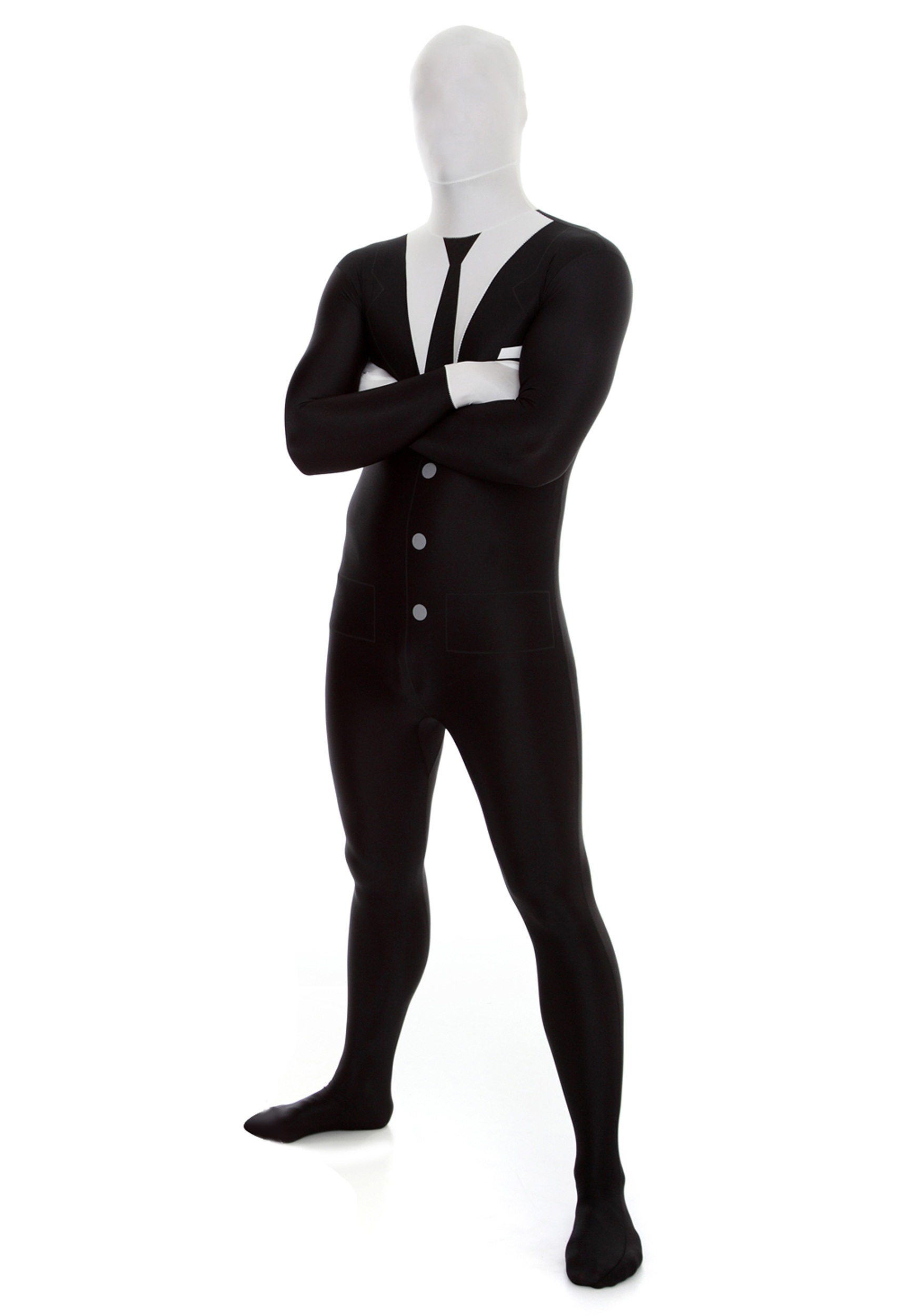 mens slenderman morphsuit - Halloween Costume Slender Man