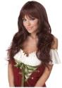 Brown Wigs Costume Accessories