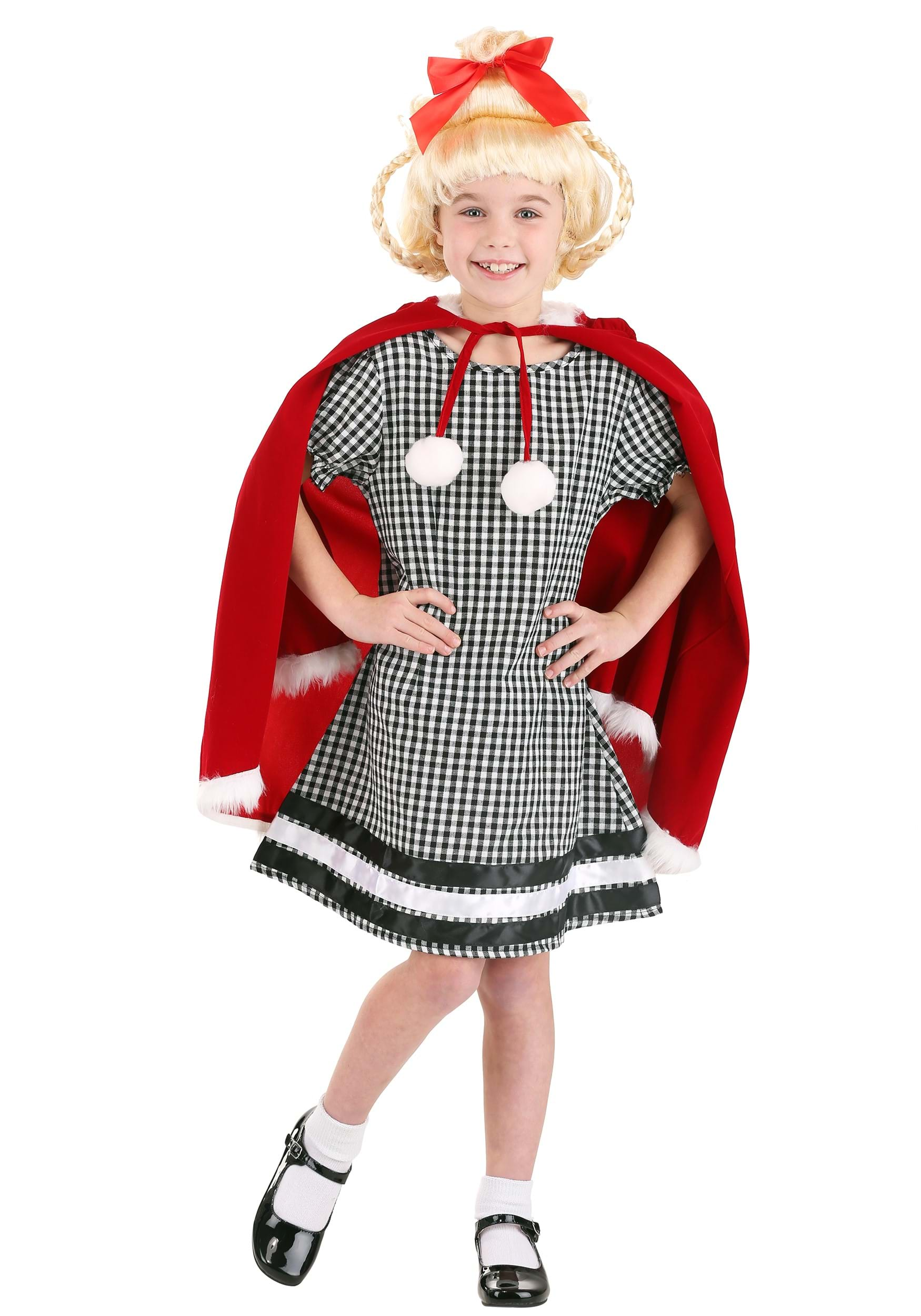 Christmas gown ideas 70s halloween - Christmas Girl Costume