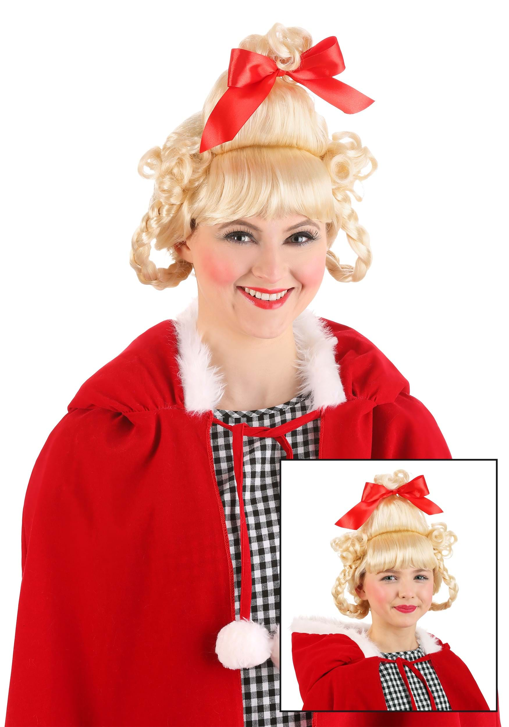 christmas girl wig - Halloween Costumes With Blonde Wig