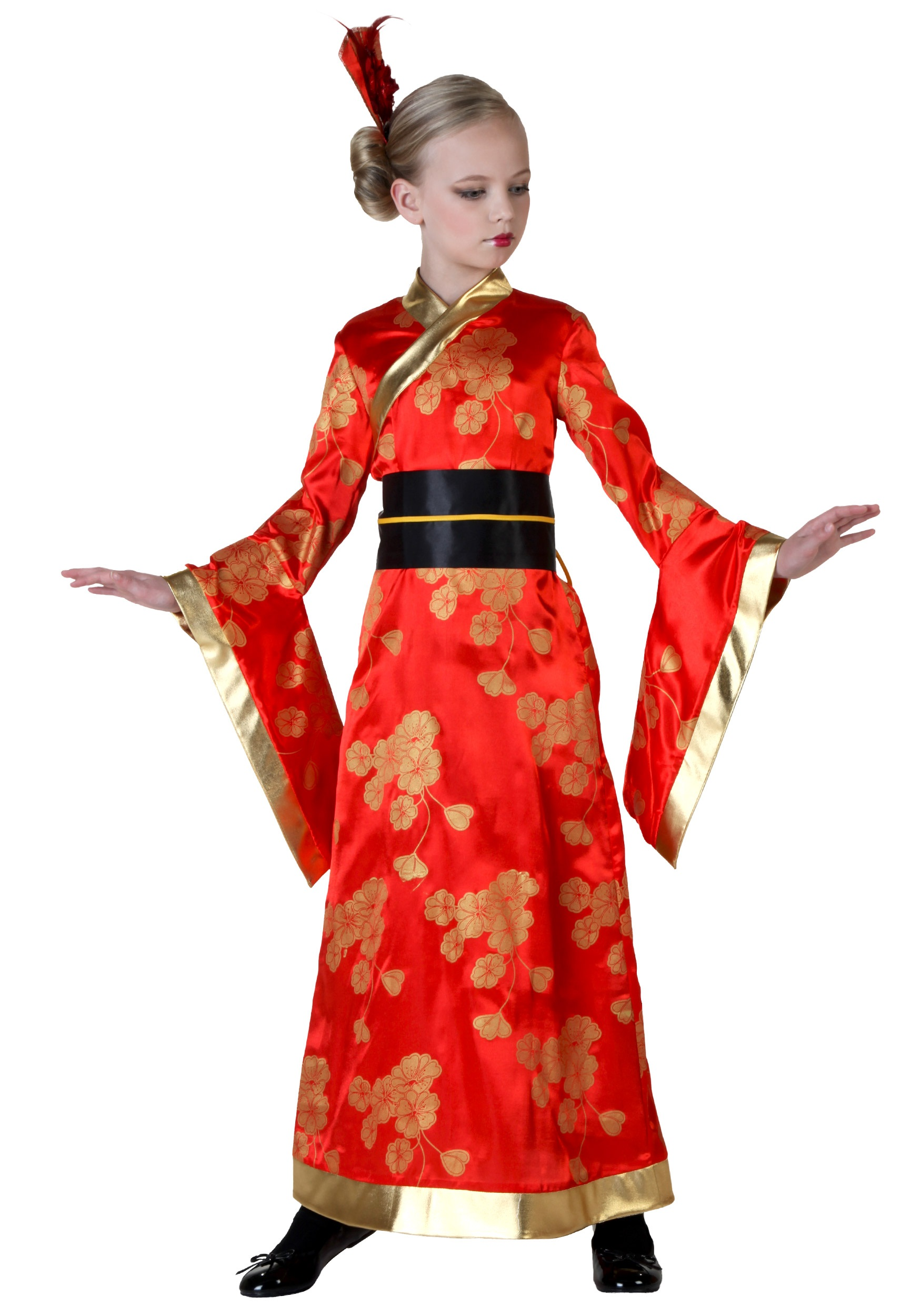 Agree, this girl geisha costume pity