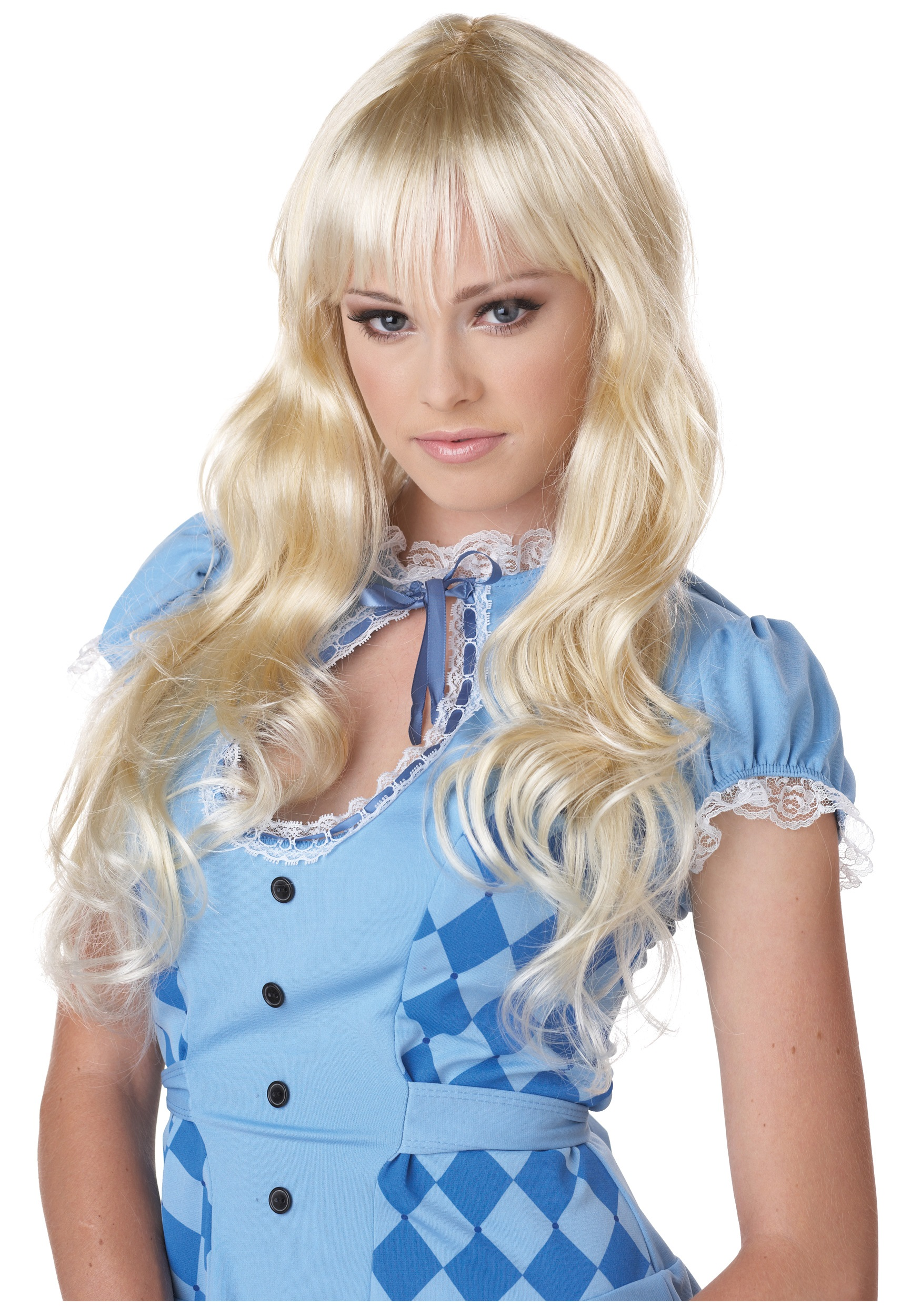 wavy blonde wig - Halloween Costumes With Blonde Wig