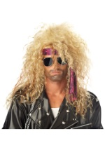 Blonde Heavy Metal Wig