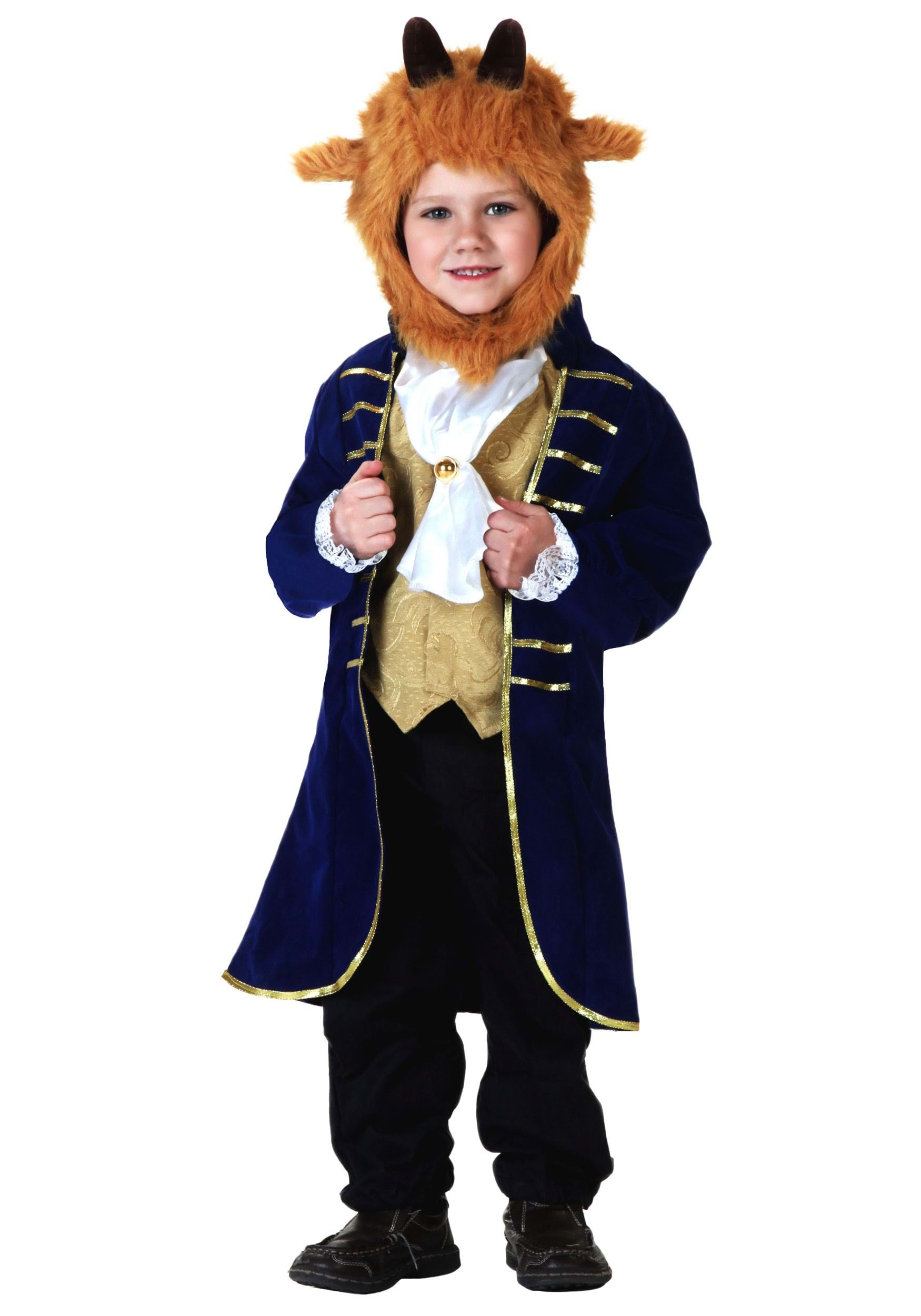 ... Child kids toddler beast Halloween costume includes Jacket Vest Front Ascot Headpiece ...  sc 1 st  HalloweenAngel & Best Beauty and the Beast Costumes for Kids