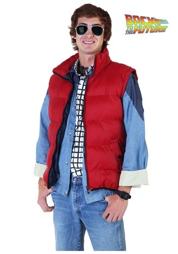 Back to the Future Marty McFly Vest Costume Update Main cc