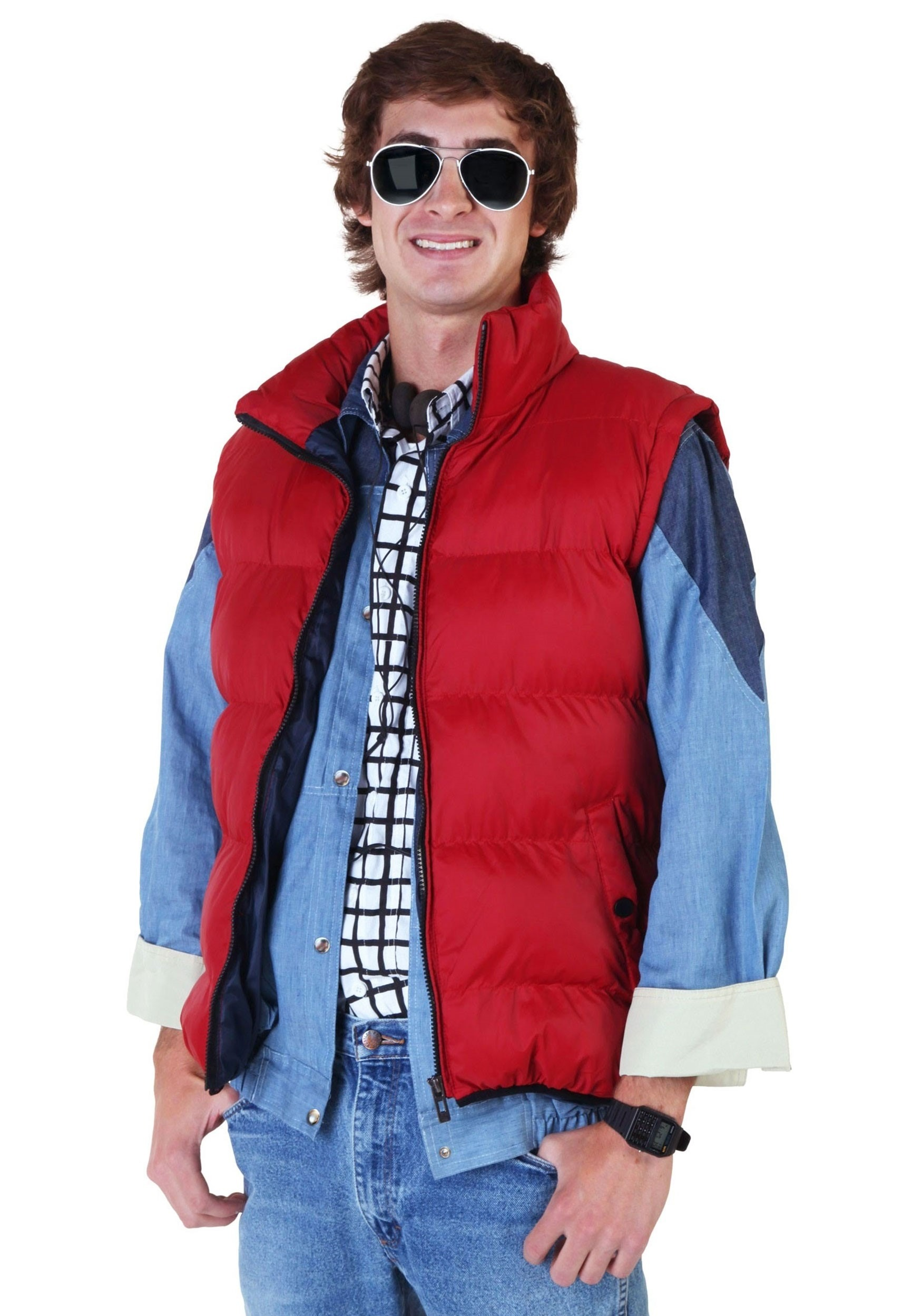 Back to the Future Marty McFly Vest BTF2240AD