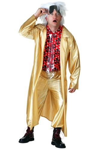 Click Here to buy Back to the Future 2015 Doc Brown Costume from HalloweenCostumes, CDN Funds