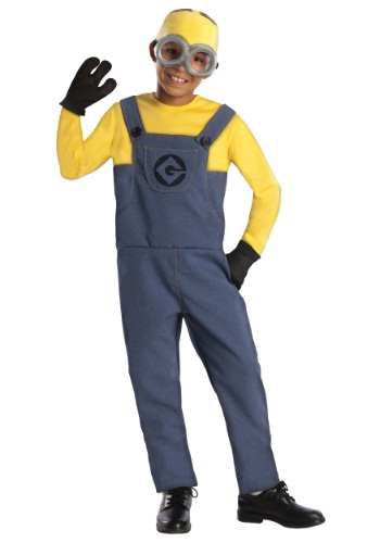 Boys Minion Dave Costume RU886973-M