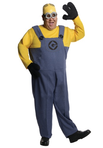 Click Here to buy Plus Size Dave Minion 1X from HalloweenCostumes, CDN Funds
