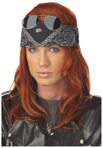 Hollywood Rocker Wig By: California Costume Collection for the 2015 Costume season.