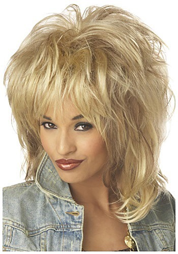Rockin Soul Blonde Wig By: California Costume Collection for the 2015 Costume season.