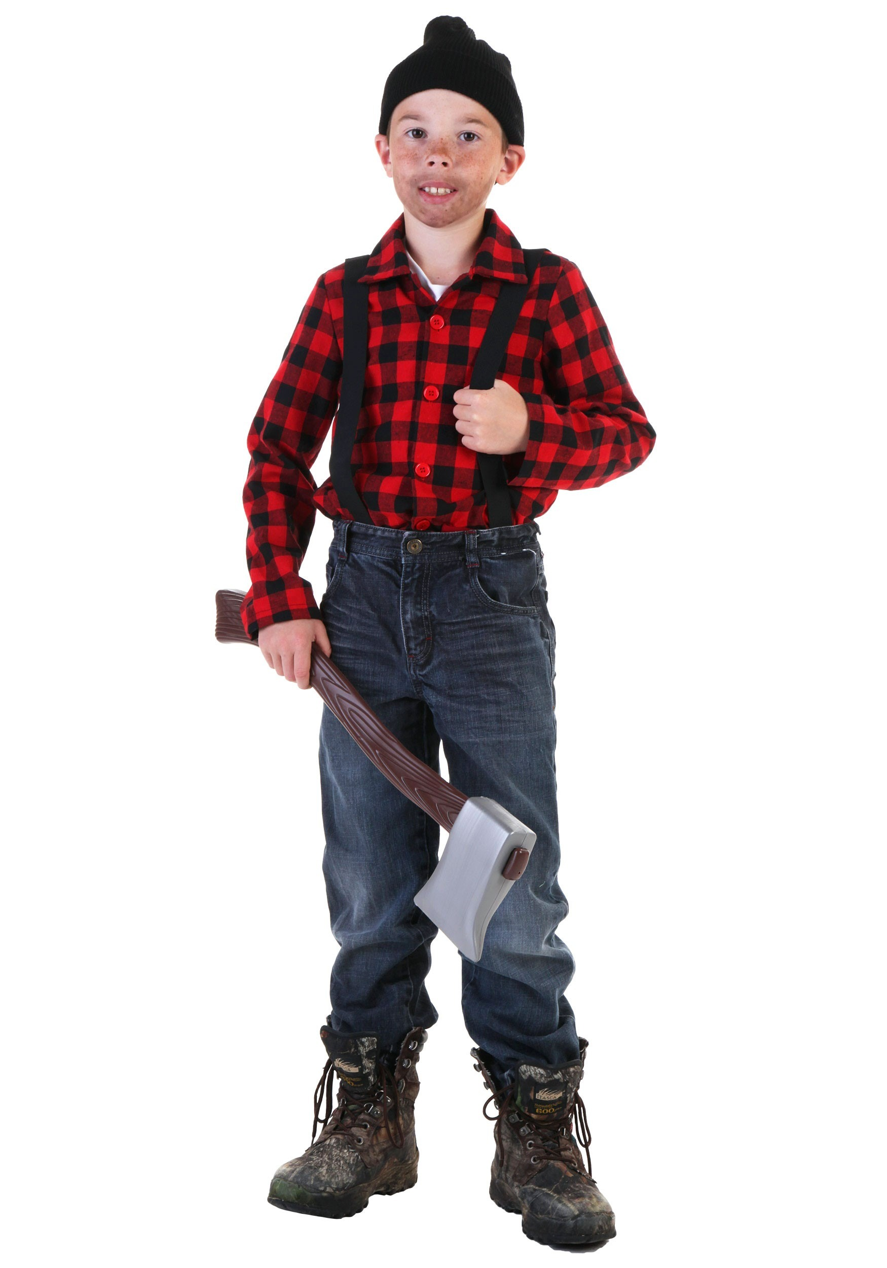 child lumberjack costume