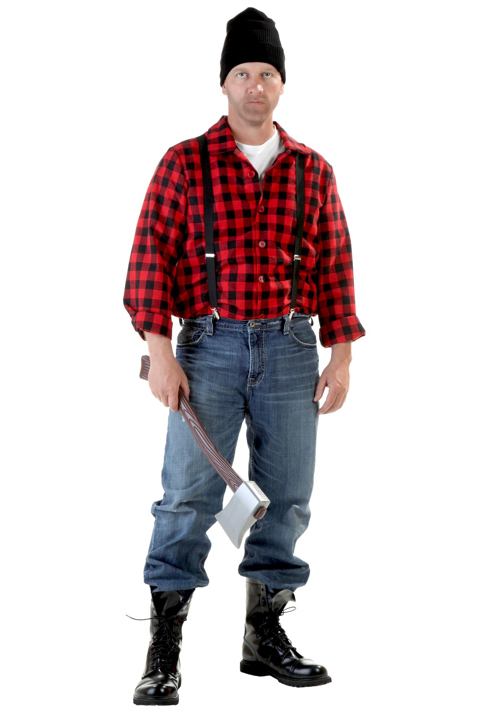 Adult Red Riding Hood Costume Adult Lumberjack Costu...