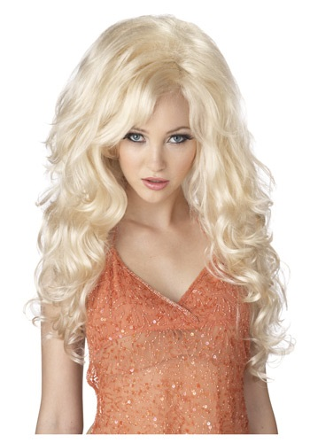 Blonde Bombshell Wig By: California Costume Collection for the 2015 Costume season.