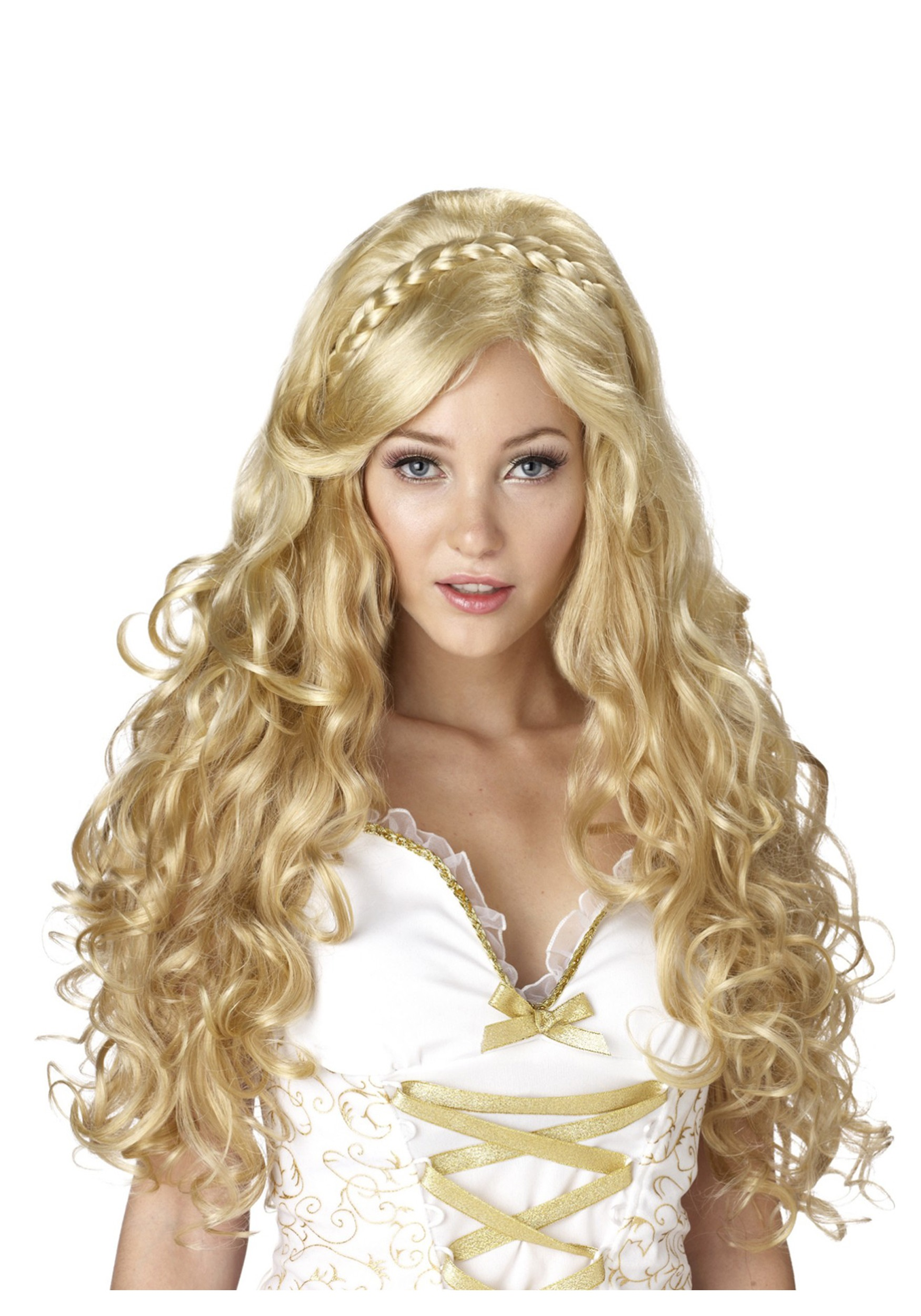 golden goddess wig - Halloween Costumes With Blonde Wig