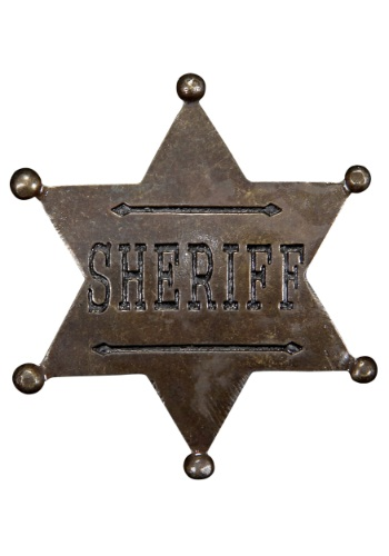 Sheriff Star Badge By: Elope for the 2015 Costume season.