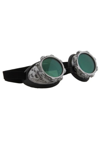 Click Here to buy Cybersteam Goggles Silver from HalloweenCostumes, CDN Funds