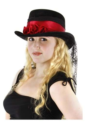 Gothic Rose Top Hat By: Elope for the 2015 Costume season.