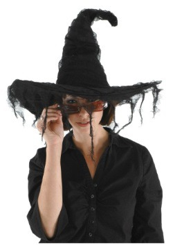 Grunge Witch Black Hat