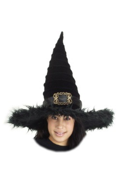 Ridged Witch Hat