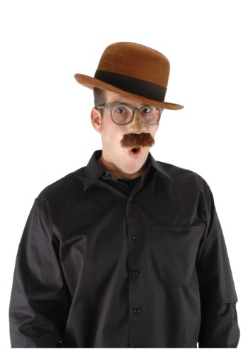 Bowler Brown Hat By: Elope for the 2015 Costume season.