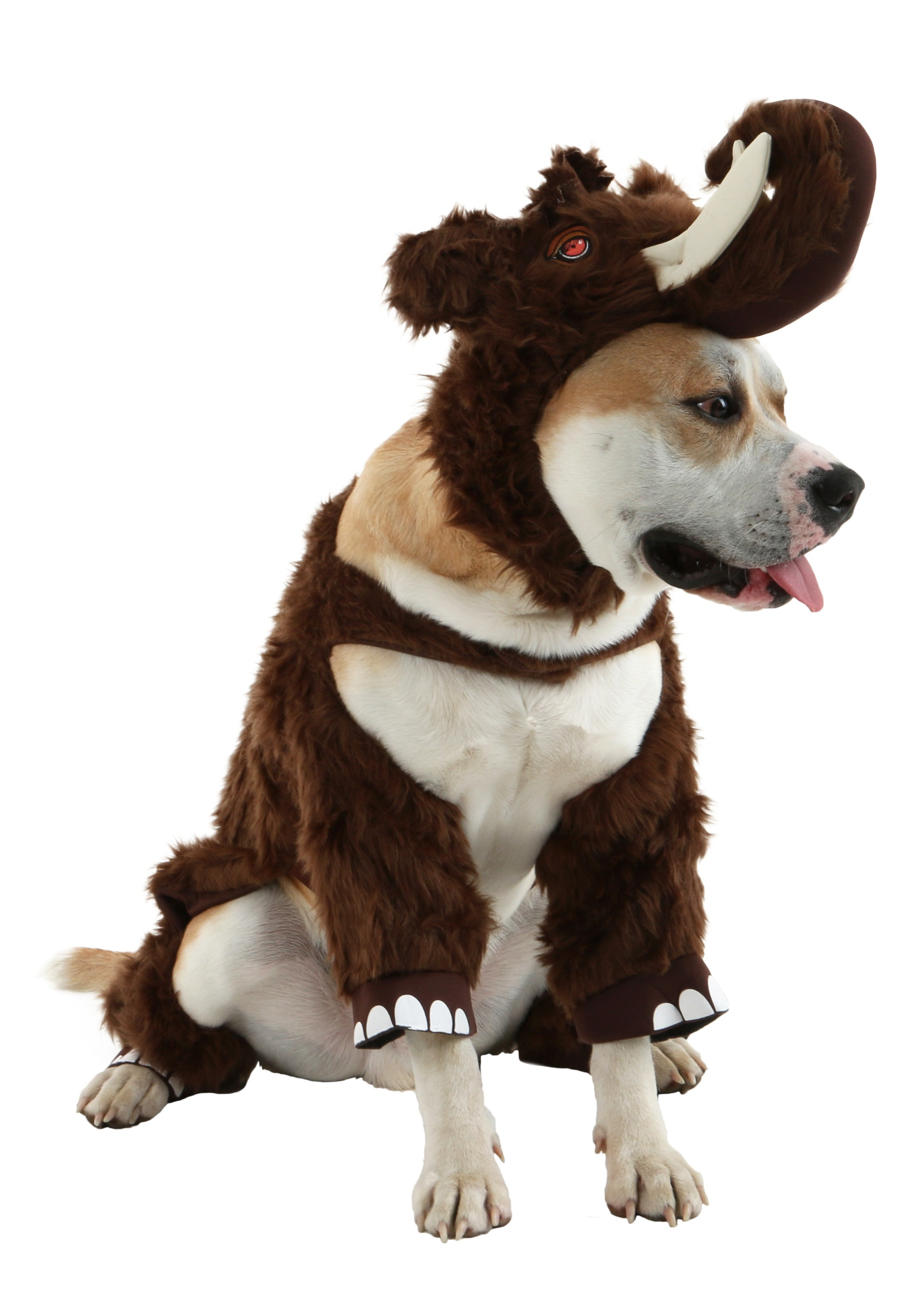 Woolly Mammoth Pet Costume - Funny Costumes for Dogs 8ea32c76035