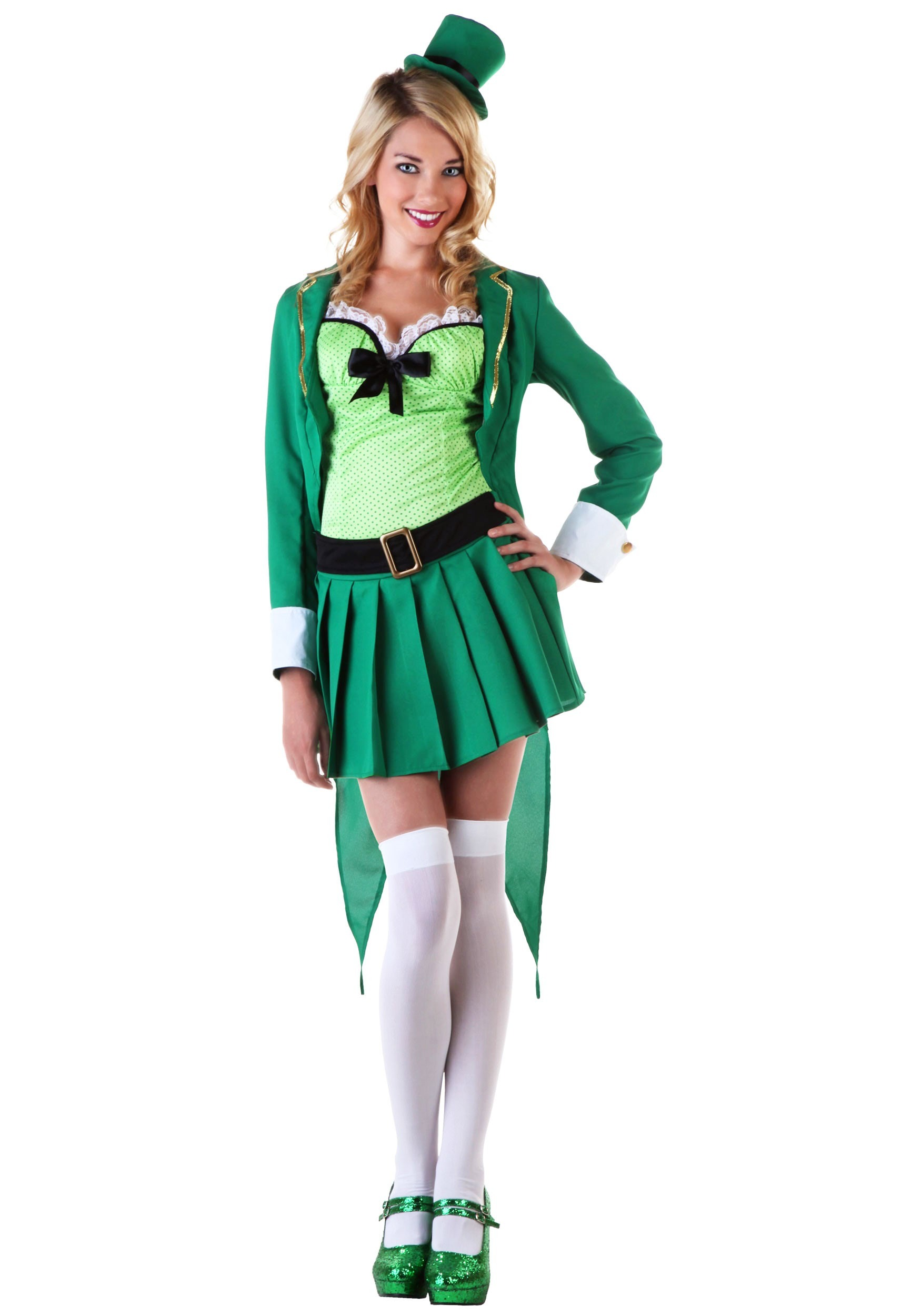 sc 1 st  Halloween Costumes & Womens Lucky Leprechaun Costume