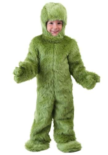 Toddler Green Furry Jumpsuit Costume Update Main Upd