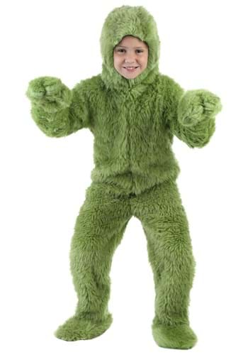 Child Green Furry Jumpsuit By: Fun Costumes for the 2015 Costume season.