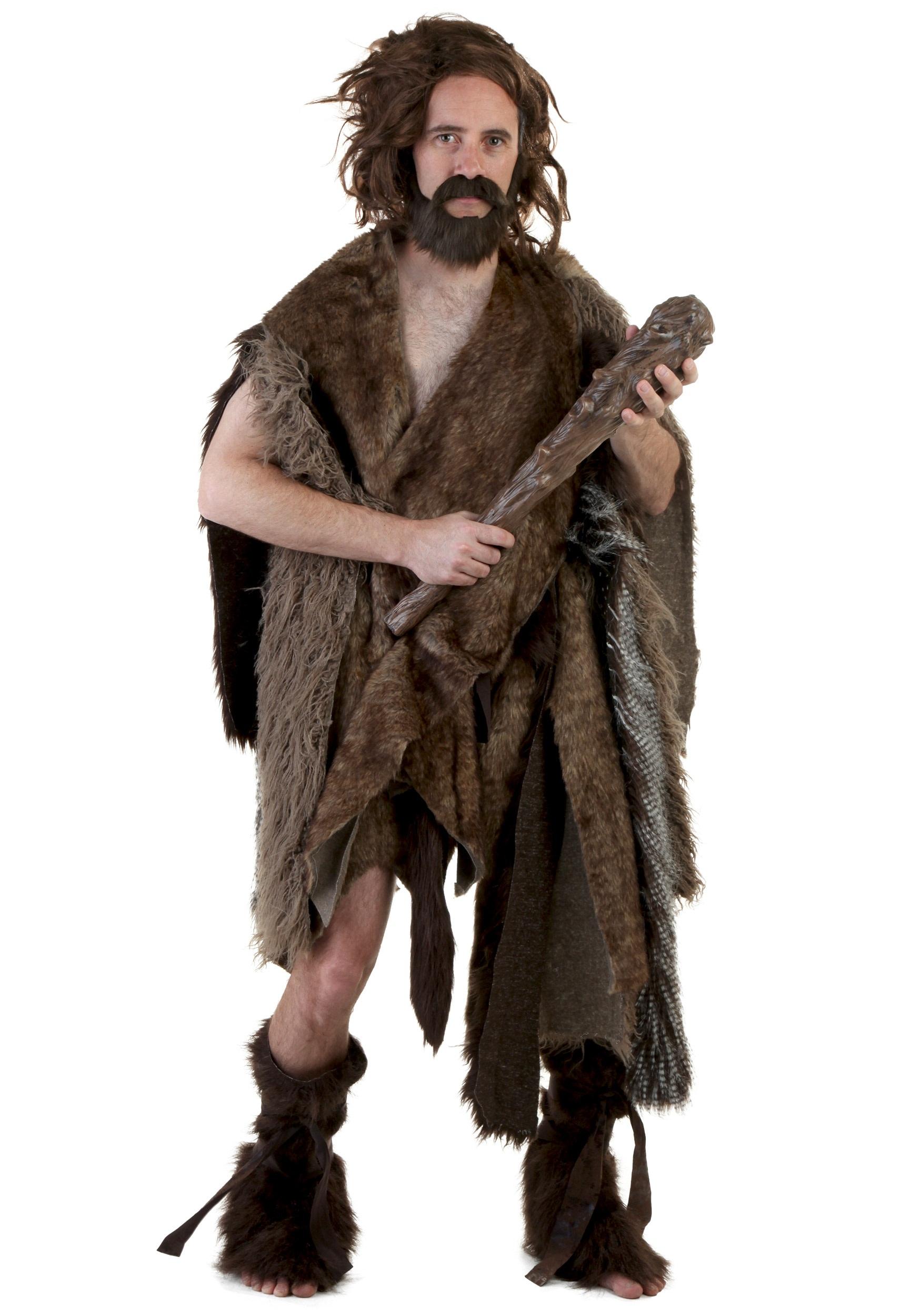 Caveman Stone : Deluxe adult caveman costume